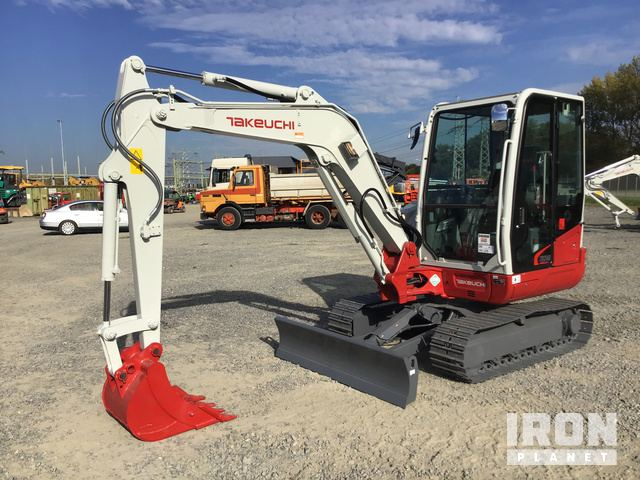 2018 Takeuchi TB240 Mini Excavator - New in Zevenbergen