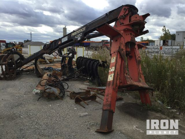 Prentice 120C Log Loader in Windsor, Ontario, Canada