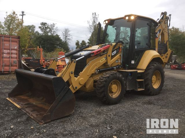 2016 Cat 420F2 IT 4x4 Backhoe Loader in Rochester, New York, United