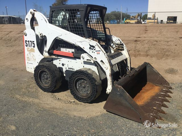 2011 Bobcat S175 Skid-Steer Loader in Perris, California