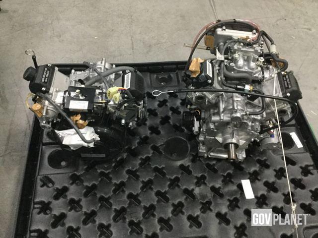 Surplus Lot of (2) Kawasaki FD620D Gasoline Engines - Unused
