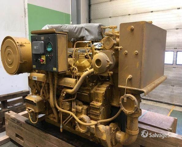 CAT 3508 C Engine (Denmark) in Esbjerg, Denmark (IronPlanet
