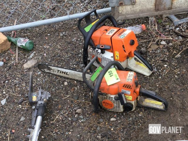 Stihl MS170 / MS460 Chainsaw w/No Bar - Lot 155 in