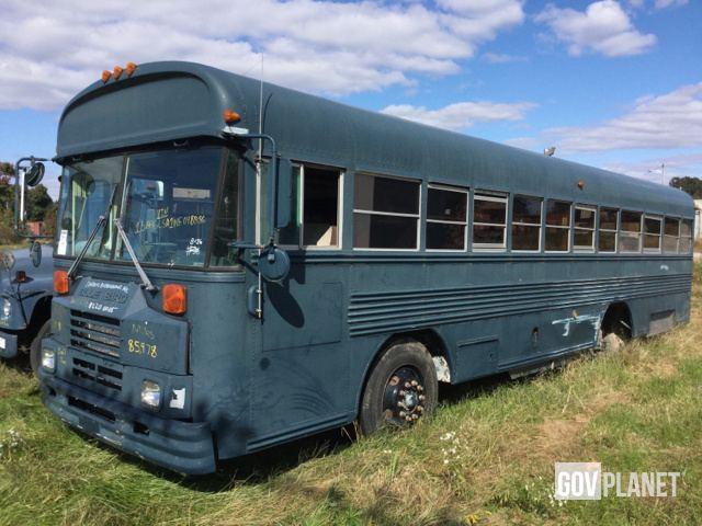 Surplus 1992 BlueBird TC2000 Bus in Havre De Grace, Maryland
