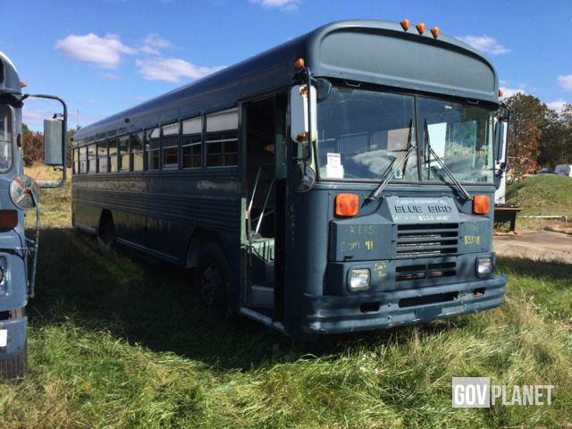 Surplus 1992 BlueBird TC2000 Bus in Havre De Grace, Maryland, United