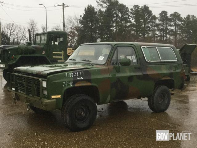 02156c82e2 Surplus 1984 Chevrolet D10 Blazer 4x4 SUV in New Boston