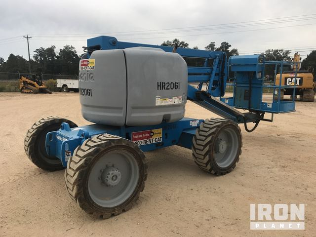 2006 Genie Z-45/25 4WD Dual Fuel Articulating Boom Lift in ... on
