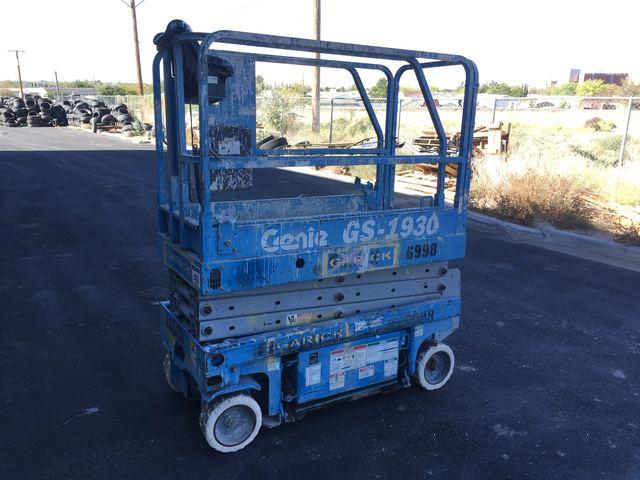 Genie GS1930 Electric Scissor Lift in El Paso, Texas, United