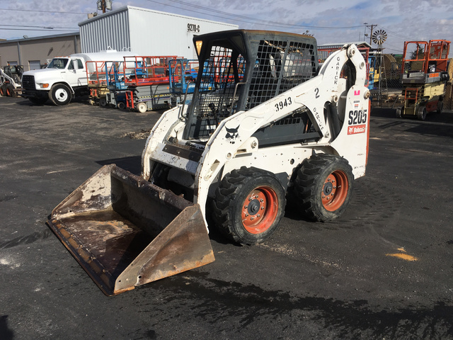 2007 Bobcat S205 Skid Steer Loader In El Paso Texas United States