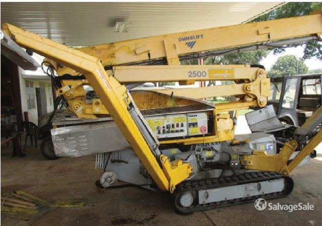 2013 Omme Lift RXBDJ Crawler Articulating Boom Lift in