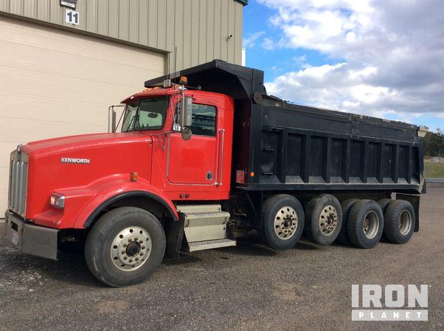 1996 Kenworth T800 Quad/A Dump Truck in Holmesville, Ohio ...Kenworth Dump Trucks For Sale Ohio