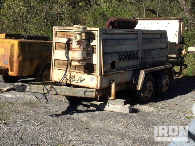 Schwing Trailer Mounted Concrete Pump in Mabscott, West Virginia