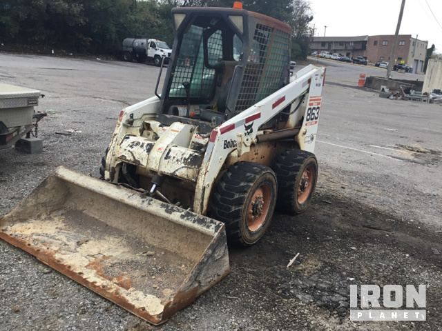 Bobcat 863 Skid-Steer Loader in Knoxville, Tennessee, United