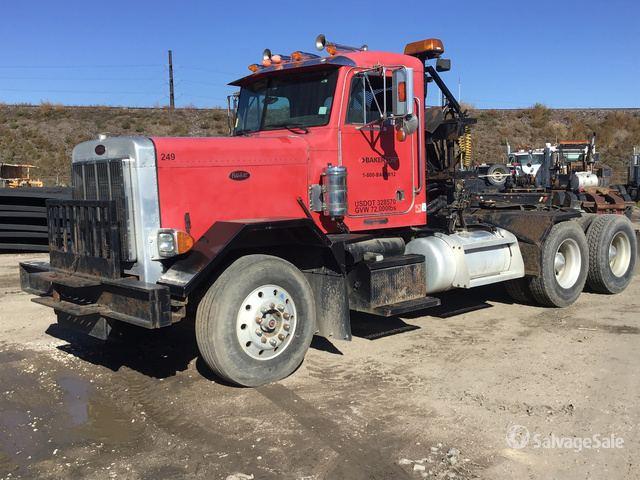 2000 Peterbilt 357 T/A Winch Truck in Denver, Colorado