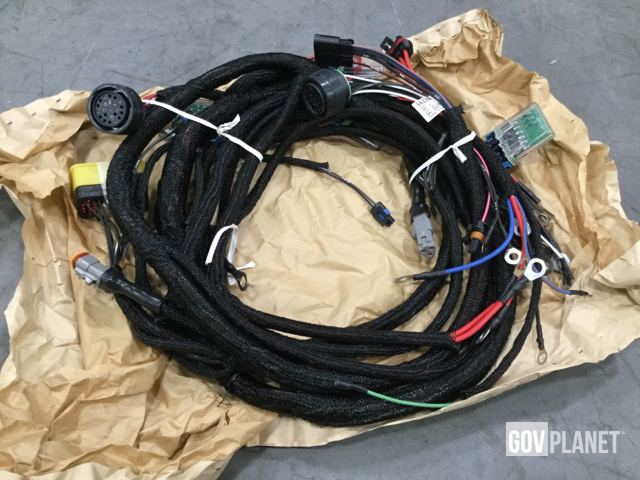 surplus lot of 17 jlg 6623807 wiring harnesses in chambersburg photos videos