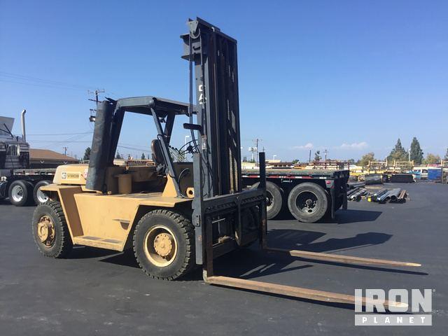 Cat V180B Pneumatic Tire Forklift in Orange, California