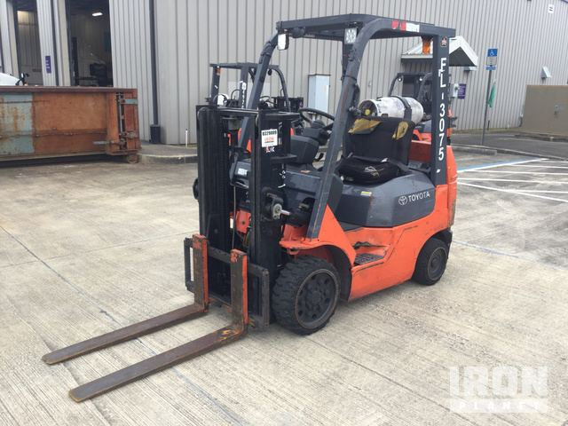 2005 Toyota 7FGCU20 Cushion Tire Forklift in Jacksonville, Florida