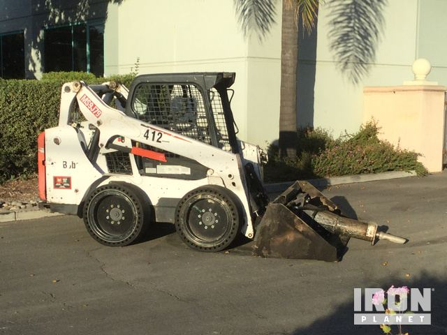 2013 Bobcat S570 Skid-Steer Loader in Santa Clara