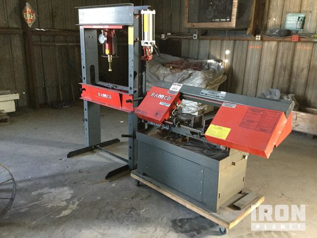 Lot of (1) Ramco RH5000 Hydraulic Press & (1) Ramco RS-90P ... Ramco Electric Heater Mobile Home on