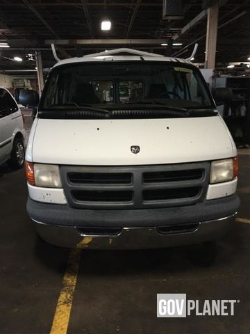 2002 Dodge Ram Cargo Work Van In Indiana Pennsylvania United States Ironplanet Item 1787661