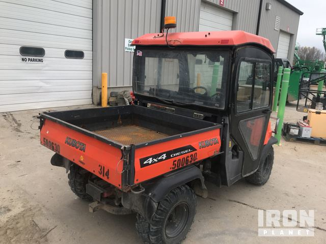 2012 Kubota RTV900 4x4 Utility Vehicle in Des Moines, Iowa