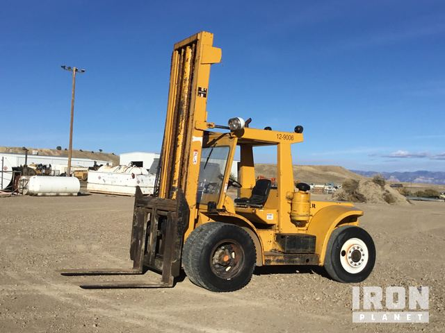 Hyster H150E Rough Terrain Forklift in Price, Utah, United
