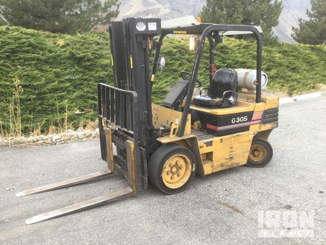 1997 Daewoo G30S-2 Pneumatic Tire Forklift in Wenatchee, Washington