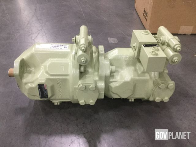 Surplus Lot of (17) Bosch/Rexroth Hydraulic Pumps-Unused in