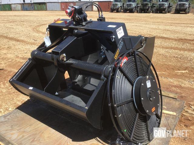 Surplus Kinshofer 602 Sonder Clamshell Excavator Bucket in