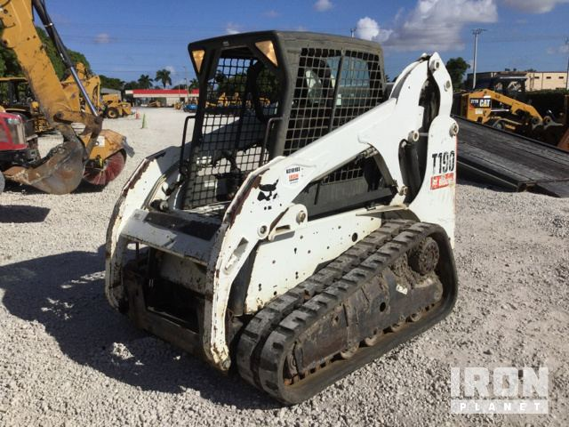 2011 bobcat t190 compact track loader in miami, florida, united states  (ironplanet item #1795718)