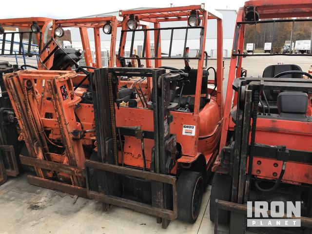 Toyota 42 6fgcu25 Cushion Tire Forklift In Warren Ohio United States Ironplanet Item 1799070