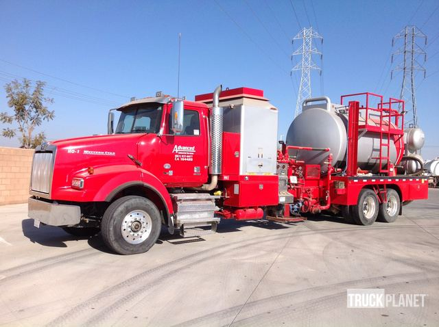 2015 (unverified) Western Star 4900SA Hot Oil Truck in Bakersfield