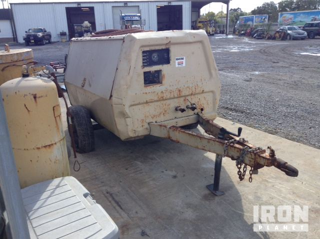 Ingersoll Rand P 185D W JD 185 CFM Air Compressor In West