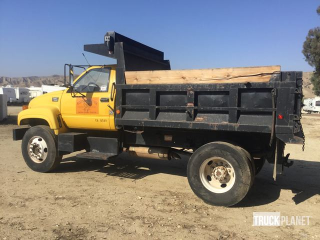 1998 GMC C7500 S/A Dump Truck in Beaumont, California