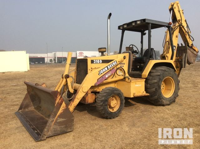 John Deere 310D 4x4 Backhoe Loader In Livermore California
