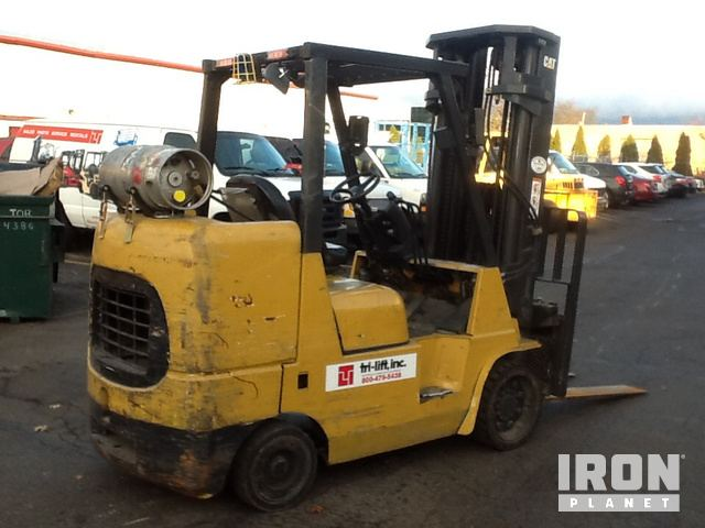 2012 Cat GC45KSWB Pneumatic Tire Forklift in Farmingdale