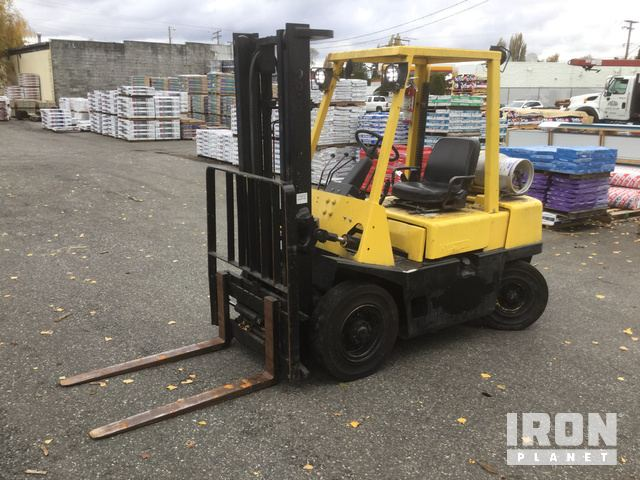 Hyster H50XL Pneumatic Tire Forklift in Mount Vernon