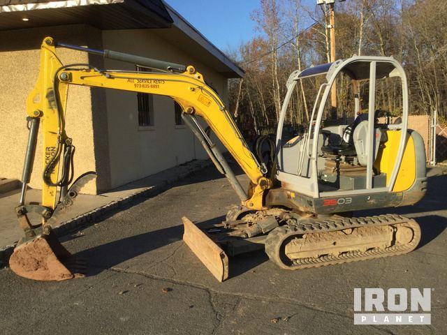 2014 Wacker Neuson 3503RD Mini Excavator in Pompton Plains, New