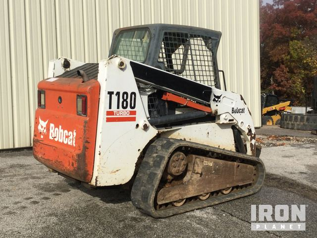 2005 Bobcat T180 Compact Track Loader in Foristell, Missouri