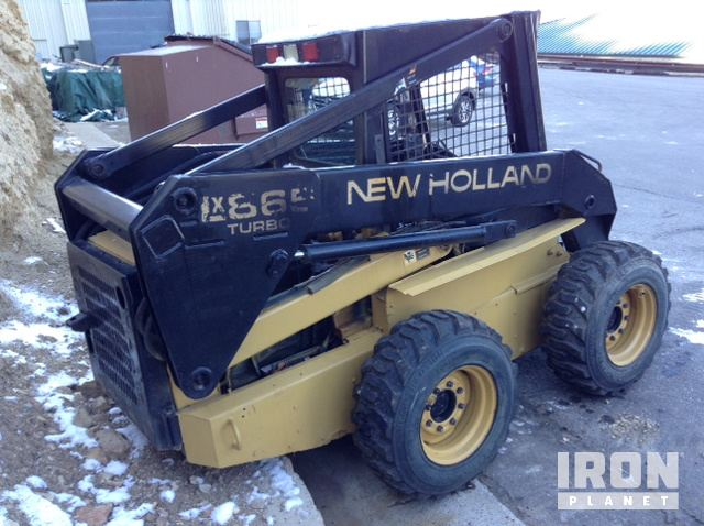 New Holland LX865 Skid-Steer Loader in Rifle, Colorado