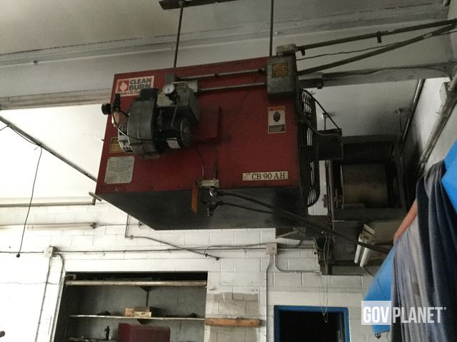 Clean Burn Waste Oil Furnace Amp Storage Tank Drained L