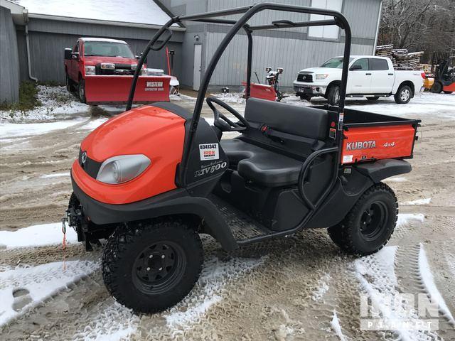 2018 kubota rtv 500 4x4 utility vehicle in ravenna, ohio, united states  (ironplanet item #1820300)