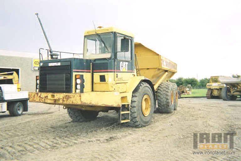1997 Caterpillar D350E Articulated Truck in Orlando, Florida