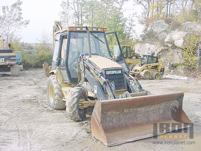 1997 Caterpillar 416C IT Backhoe Loader in Milford, Massachusetts