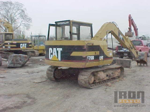 1989 Caterpillar E70B Track Excavator <<-- OBSOLETE in
