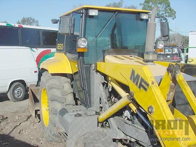 1996 Fermec 650 Utility Tractor in Buena Park, California, United