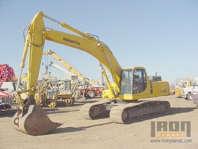 Komatsu PC300 Track Excavator in San Antonio, Texas, United States