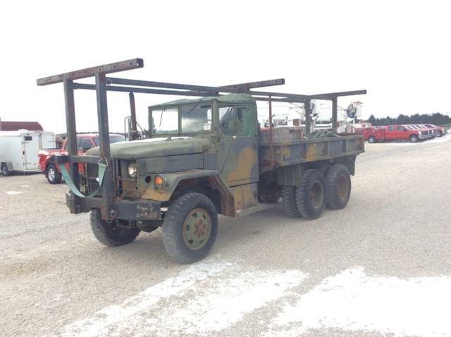 Surplus 1971 Am General M35a2 2 12 Ton 6x6 Cargo Truck In