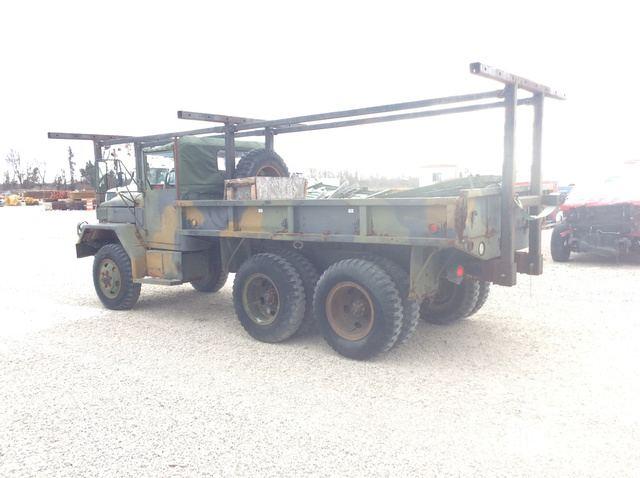 Surplus 1971 AM General M35A2 2 1/2 Ton 6x6 Cargo Truck in