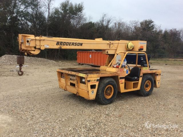 2003 Broderson IC-80-3F Carry Deck Crane in Beaumont, Texas